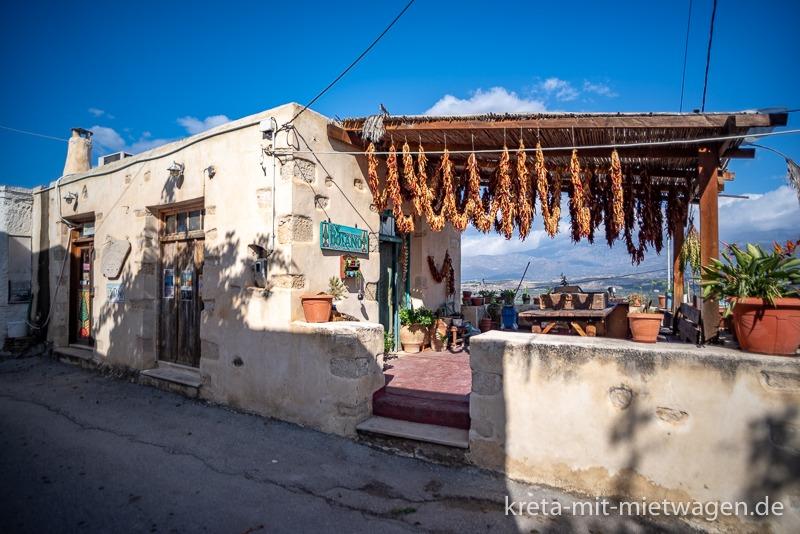 Botano in Kouses, der wohl berühmteste Kräuterladen Kretas
