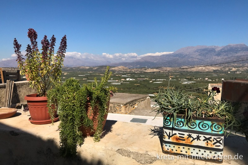 Botano in Kouses - View from the terrace