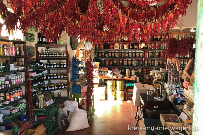 Botano - Interior view of the famous herb shop in Kouses
